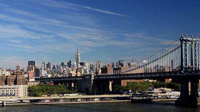 Midtown seen from Brooklyn Bridge