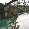 Deception Pass and bridge.