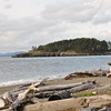 The beach at Deception Pass State Park.