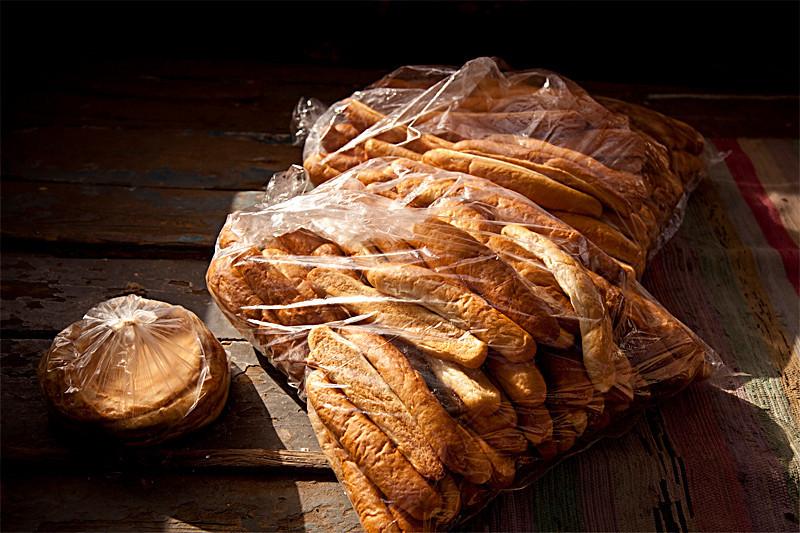 Answan<br /> <br /> Bread on Answan ferry to Elephantine Island