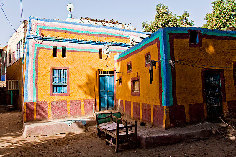 Nubian house on Elephantine Island, Answan