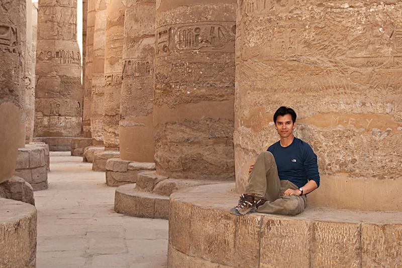 Hypostle Hall at Karnak Temple - Luxor, Egypt