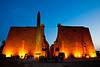 Luxor Temple, Luxor<br /> <br /> Luxor Temple is the only temple in Egypt that is lit up for several hours in the evening and allow people to stroll among its ground and enjoy the temple at their own paces. I wish all the major temples in Egypt would do that. The other temples in Egypts like Karnak and Philae are lit up only during their Sound & Light Show, and you have to clear their grounds as soon as the shows are over.