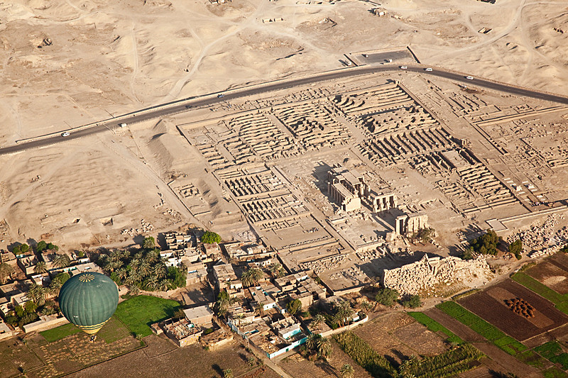 Another top view of Ramesseum.