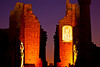 Sound and Light Show at Karnak Temple, Luxor<br /> <br /> As with the other Sound and Light shows in Egypt, images and lights are projected onto the temple along with a narrated story. The audience is walked to selected parts of the temple during the show as the narration progresses.