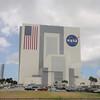 """I denne bygningen klargjør de romfergene før """"launch"""". Svære greier..."""