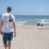 26. juni, og vi er på vei fra Orlando mot Fort Lauderdale. Her tar vi en rast ved en strand i nærheten av Port St. Lucie.