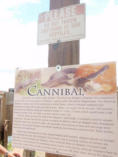 Litt info om Cannibal.