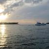 Vi nyter solnedgangen på Key West, 3. juli 2010.