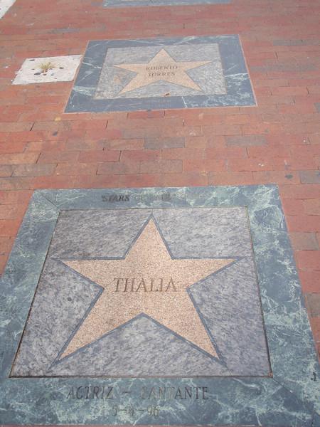 Little Havana's Walk of Fame i Calle Ocho.