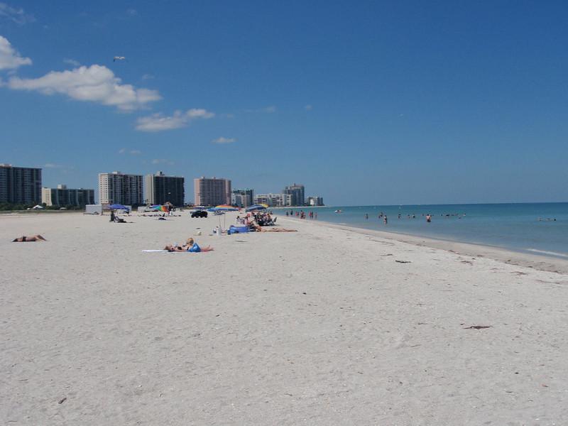 Clearwater Beach (mest sannsynlig). Nydelig.