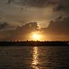 Solnedgang på Key West.