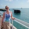 Silje på nordenden av Key West