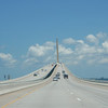 "Nordover på ""Sunshine Skyway Bridge"", Tampa Bay, FL."