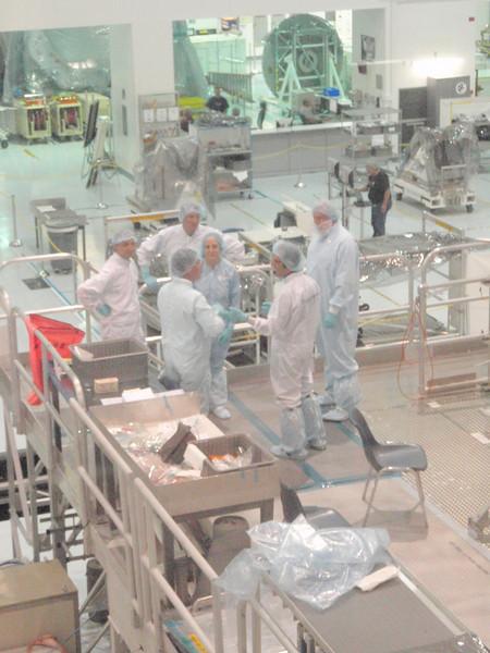Forskere og andre folk, bl.a. fra Italia, jobber med en ny modul til romstasjonen.