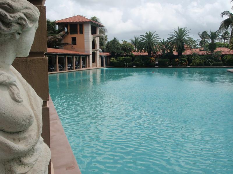 Bassenget ved Biltmore Hotel, Coral Gables.