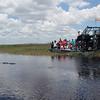 Turistene betrakter livet i vannet...