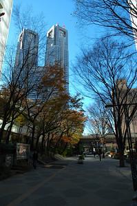 Tokyo Metropolitan Government Building, Shinjuku, Tokyo.