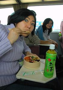 Bento on the train!