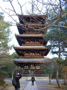 5-story pagoda at Ninna-ji, Kyoto.