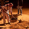 Jabal Rum Camp.<br /> <br /> What could he be digging for?