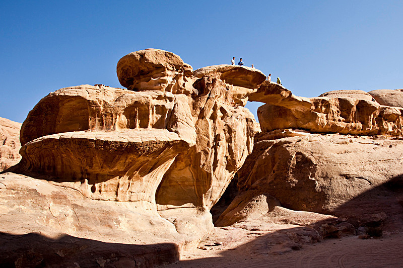 Um Fruth Rock Bridge, Wadi Rum