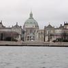 Amalienborg fra sjøsiden.