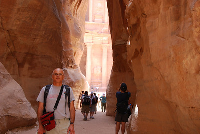 032 - The Treasury sight through the Siq