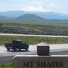 Scenic Viewpoint of Mount Shasta and surrounding mountains off Interstate 5, This is past the Anderson summit, just before reaching Yreka.