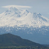 Mt Shasta is the fifth highest mountain in Calfornia, and after Mt Rainier the second highest mountain peak of the Cascade range.