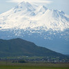 Mt Shasta (and the city of Weed, I think, or possibly the town of Mt Shasta)