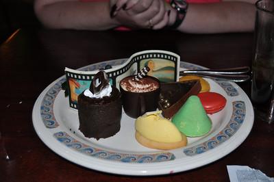 Dessert at Ariel's Grotto