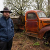 Andrew with his G ride on his farm near Sweet Home, OR. - 1/10/2010