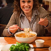 In SF with Marissa eating some spicy pho. - 1/9/2010