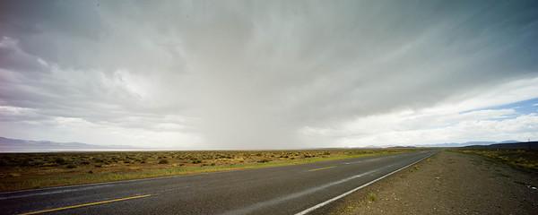 Thunderstorm US 50 Utah August 2010