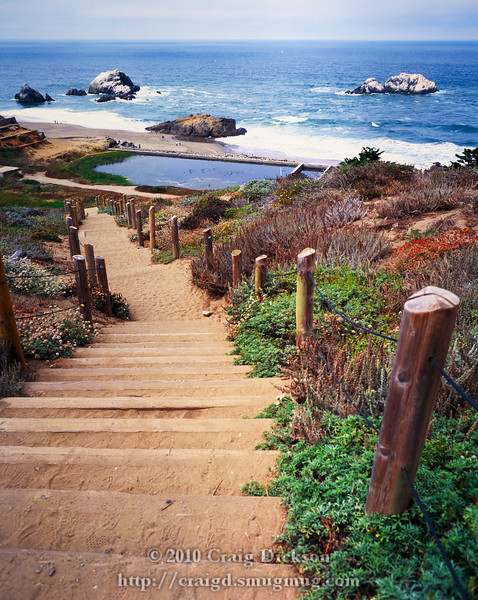Above the Sutro baths, San Francisco