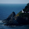 The Oregon Coast - rocky and pristine.  I've seen this lighthouse on quite a few Kodak pieces now that I've been there!!