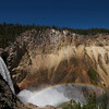 Yellowstone Lower Falls - Uncle Tom's trail - Nothin' but steps!! Like it? Hover your mouse over the picture and click the green thumb!!