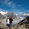 U Aletsch ledovce.