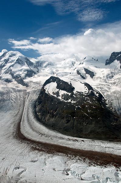 Pohled z Gornegratu.