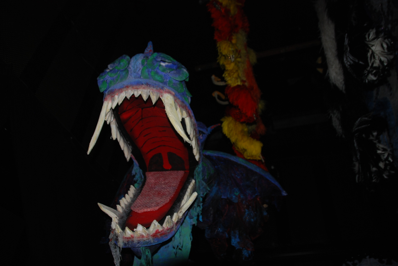 Dragon used in one of the productions.