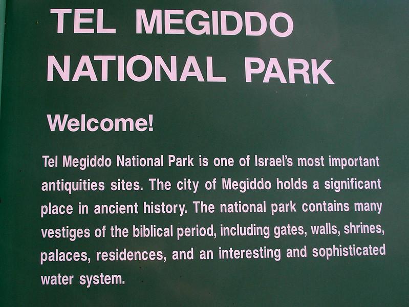 Major city of antiquity - Overlooks plain of Armigiddon found in Revelation