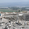 Palace grounds dated to King Solomon - 10th century BC