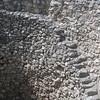 Steps down in grain silo