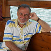 Mike - our guide - on the boat on Galilee
