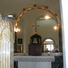 In church of Mount of Beatitudes
