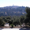Looking toward Mount of Olives from Temple Mount
