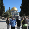 Golden dome - sitting on Rock where Abraham was to sacrifice Isaac