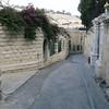 Route of Palm Sunday entry to Jerusalem