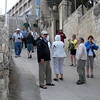 Walk from Mount of Olives - Palm Sunday route